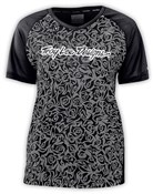 Troy Lee Skyline Evil Womens Short Sleeve MTB Cycling Jersey SS16
