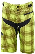 Troy Lee Designs Skyline Plaid Womens MTB Cycling Shorts SS16