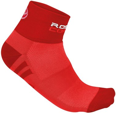Image of Castelli Rosa Corsa Womens Cycling Socks SS16