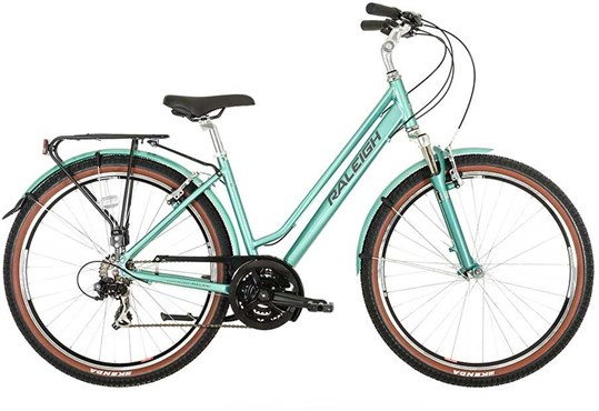 Image of Raleigh Pioneer Trail Womens 2016 - Hybrid Classic Bike