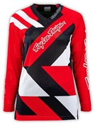Troy Lee Designs Moto Metric Womens Long Sleeve MTB Cycling Jersey SS16