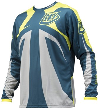 Troy Lee Designs Sprint Reflex Youth Long Sleeve MTB Cycling Jersey SS16