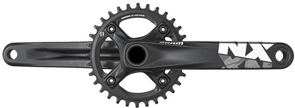 SRAM NX 1x X-Sync BB30 Crankset (BB30 Bearings Not Included)