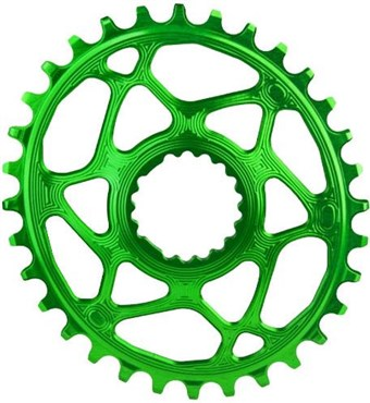 Image of absoluteBLACK Cannondale Hollowgram Direct Mount Oval Chainring N/W