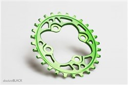 absoluteBLACK 64BCD Spider Mount Oval Chainring N/W