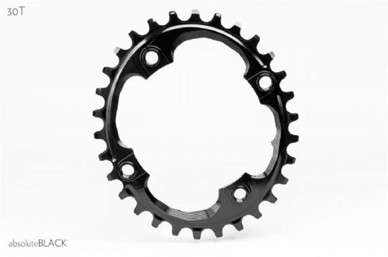 Image of absoluteBLACK Sram 94BCD Oval Chainring N/W - Integrated Threads