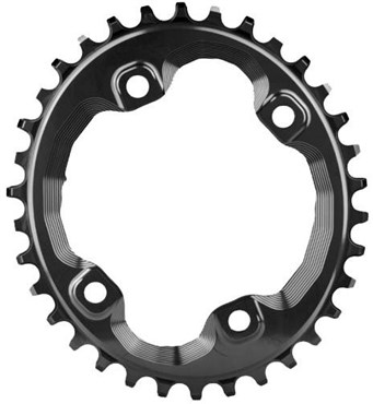 Image of absoluteBLACK XT M8000/MT700 Spider Mount Oval Chainring N/W