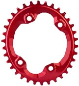 absoluteBLACK XT M8000/MT700 Spider Mount Oval Chainring N/W