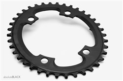 absoluteBLACK CX 110BCD 4 Bolt Asymmetric Spider Mount Oval Cyclocross Chainring