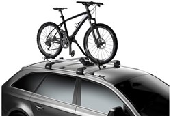 Thule 598 ProRide Locking Upright Cycle Carrier - Aluminium