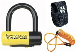 Kryptonite New York Liberty Disc Lock With Reminder Cable
