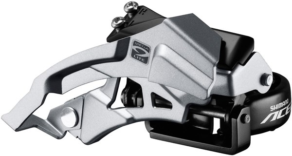 Image of Shimano Acera M3000 Triple Front Derailleur Top Swing