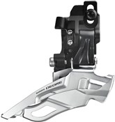 Product image for Shimano FD-M611 Deore 10 Speed Triple Front Derailleur With Top-pull and Direct-fit