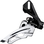 Product image for Shimano Deore M612-D Triple Front Derailleur With Direct Mount, Side Swing and Front Pull