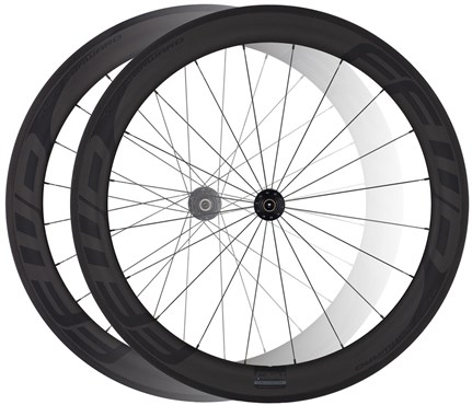 Image of Fast Forward F6R Full Carbon Clincher DT240 Black Edition Road Wheelset
