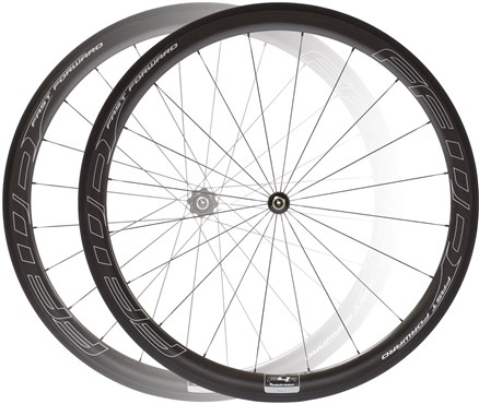 Image of Fast Forward F4R Tubular DT180 Silver Edition Wheelset