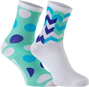 Madison Sportive Womens Mid Socks AW16 - Pack of 2