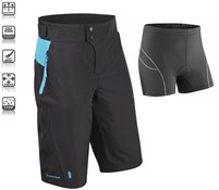 Product image for Tenn Protean MTB Cycling Shorts + Padded Boxers Combo SS16