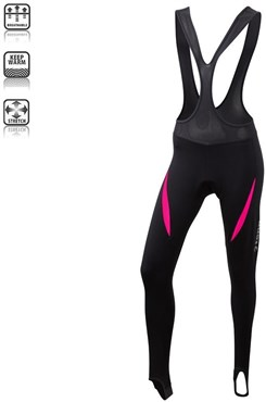 Image of Tenn Womens Lazer Thermal Bib Tights SS16