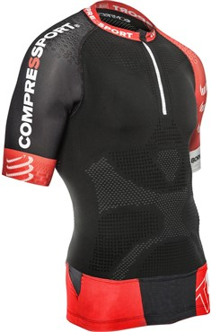 Compressport Pro Racing Trail Short Sleeve Running Jersey V2 SS17