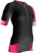 Compressport Pro Racing Triathlon TR3 Womens Aero Top SS17