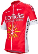 Nalini Cofidis Replica Team Cycling Short Sleeve Jersey SS16