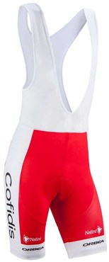Image of Nalini Cofidis Replica Team Cycling Bib Shorts SS16