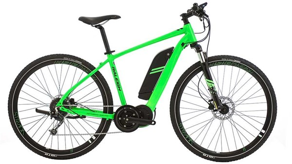 Raleigh Strada Crossbar TSE 2018 Electric Hybrid Bike Main Shot