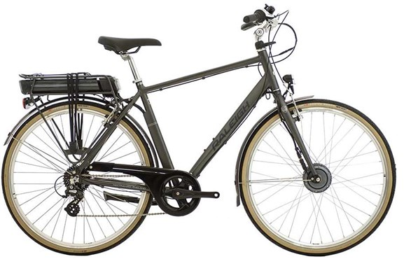 Image of Raleigh Pioneer E Crossbar 700c 2016 - Electric Bike