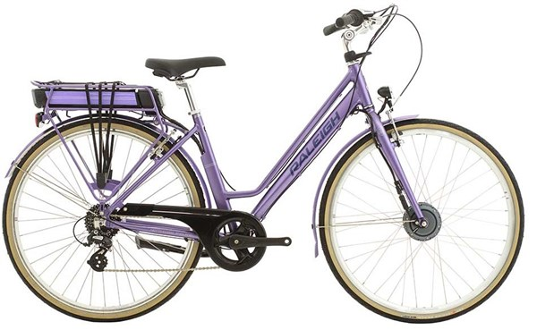 Image of Raleigh Pioneer E Low Step 700c Womens 2017 - Electric Bike
