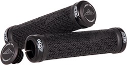 Azonic Logo Lock On Grips - 130 mm