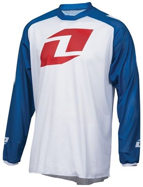 One Industries Atom Vented Icon Long Sleeve Cycling Jersey