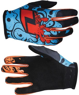 One Industries Youth Zero Slime Long Finger Cycling Gloves