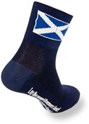 "SockGuy Classic 3"" Socks - Scottish Flag Blue"