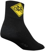 "Product image for SockGuy Classic 3"" Socks - Share Black"