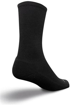 "Image of SockGuy 6"" Mr Black Sox Wooligan Socks"