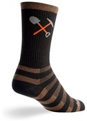 "SockGuy Crew 6"" Wool Trail Work Socks"