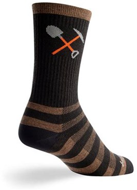 "Image of SockGuy Crew 6"" Wool Trail Work Socks"