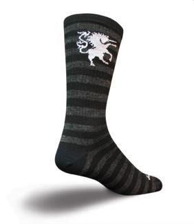 "Image of SockGuy Crew 8"" Wool Medieval Unicorn Socks"