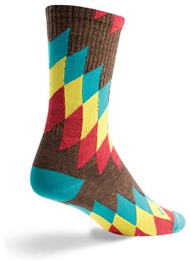"SockGuy Crew 6"" Wool Chief Socks"