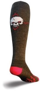 "SockGuy 12"" Wool Red Eye Knee High Socks"