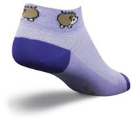 "Product image for SockGuy 1"" Porcupine Womens Socks"