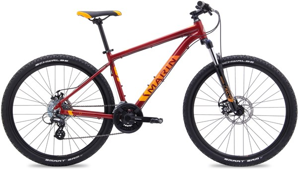 "Image of Marin Bolinas Ridge 2 27.5"" / 650B+  Mountain Bike 2017 - Hardtail MTB"