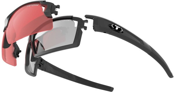 Image of Tifosi Eyewear Pro Escalate Full and Half Fototec Sunglasses