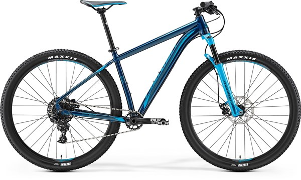 Image of Merida Big Nine 600 29er Mountain Bike 2017 - Hardtail MTB