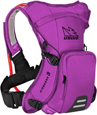 Image of USWE Airborne 3 Hydration Pack 1L Cargo With 2.0L Shape-Shift Bladder