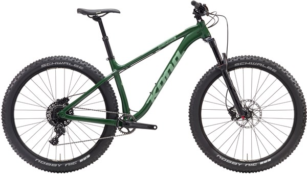 Image of Kona Big Honzo DL 27.5 Mountain Bike 2017 - Hardtail MTB