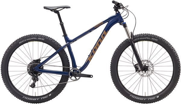Image of Kona Big Honzo DR 27.5 Mountain Bike 2017 - Hardtail MTB