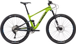 Product image for Kona Hei Hei Deluxe Carbon 29er Mountain Bike 2017 - Trail Full Suspension MTB
