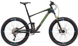 Kona Hei Hei Trail Deluxe Carbon 27.5 Mountain Bike 2017 - Full Suspension MTB
